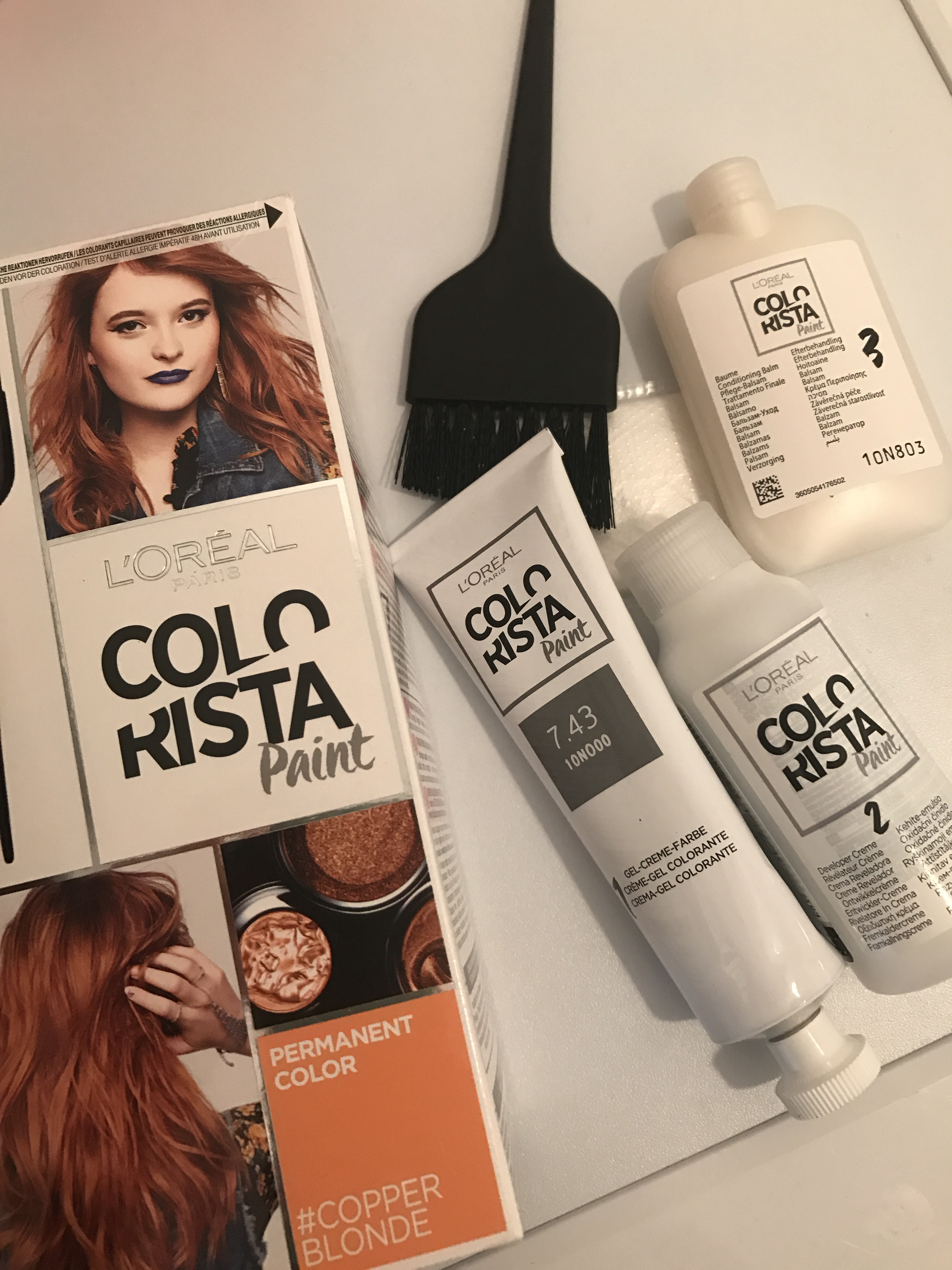 Colorista haarfarbe blond
