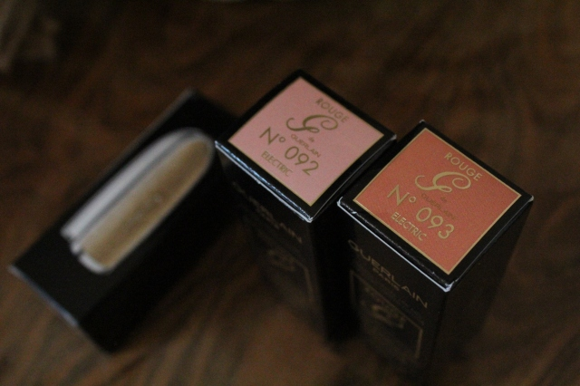 Guerlain Rouge G Electric 092 & 093