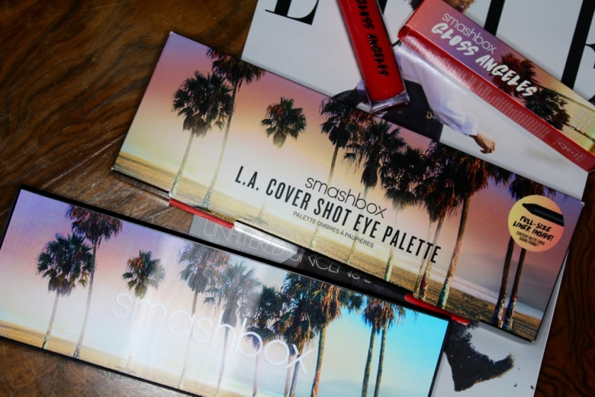 Smashbox L.A. Cover Shot Palette// Gloss Angeles in Ay, Poppy