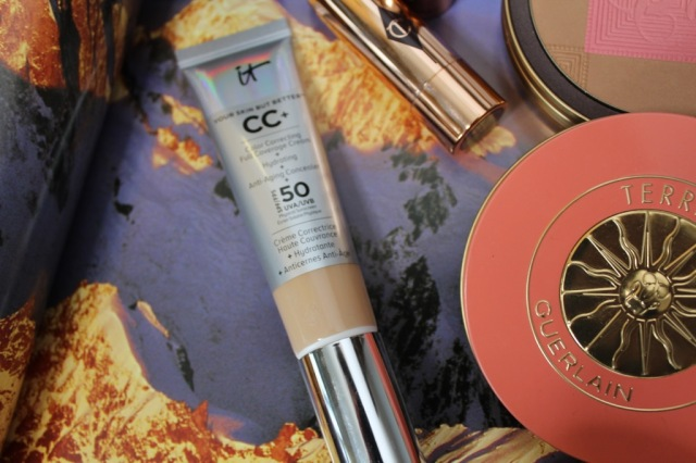 It Cosmetics CC in Neutral Medium / Guerlain Terracotta Sahara Jewel