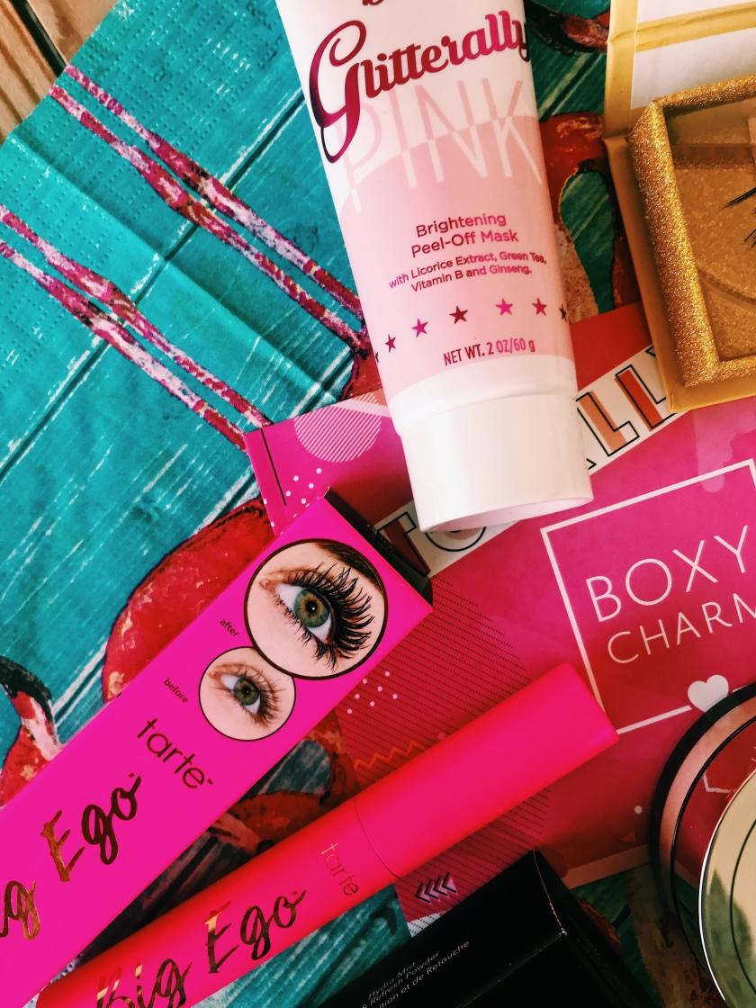 Boxycharm in Deutschland/ Österreich: Tarte Big Ego/ Pür Gliterally Pink