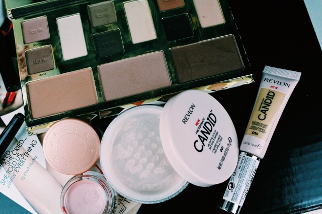 Revlon Photoready Candid Powder & Concealer, Tarte Clay Play Face Palette, Becca Under Eye Brightening Corrector Concealer