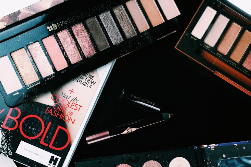 Urban Decay Naked Reloaded & Naked Heat