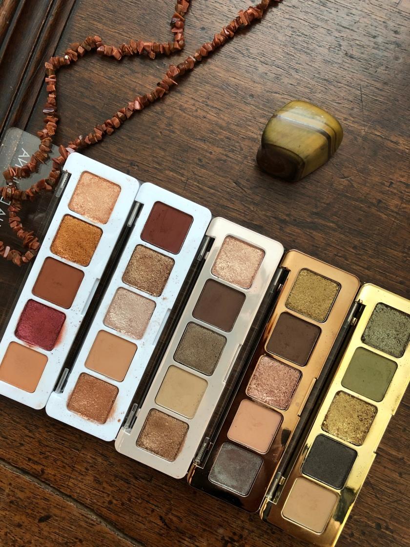 Natasha Denona Mini Palettes: Sunset, Nude, Glam, Star, Gold