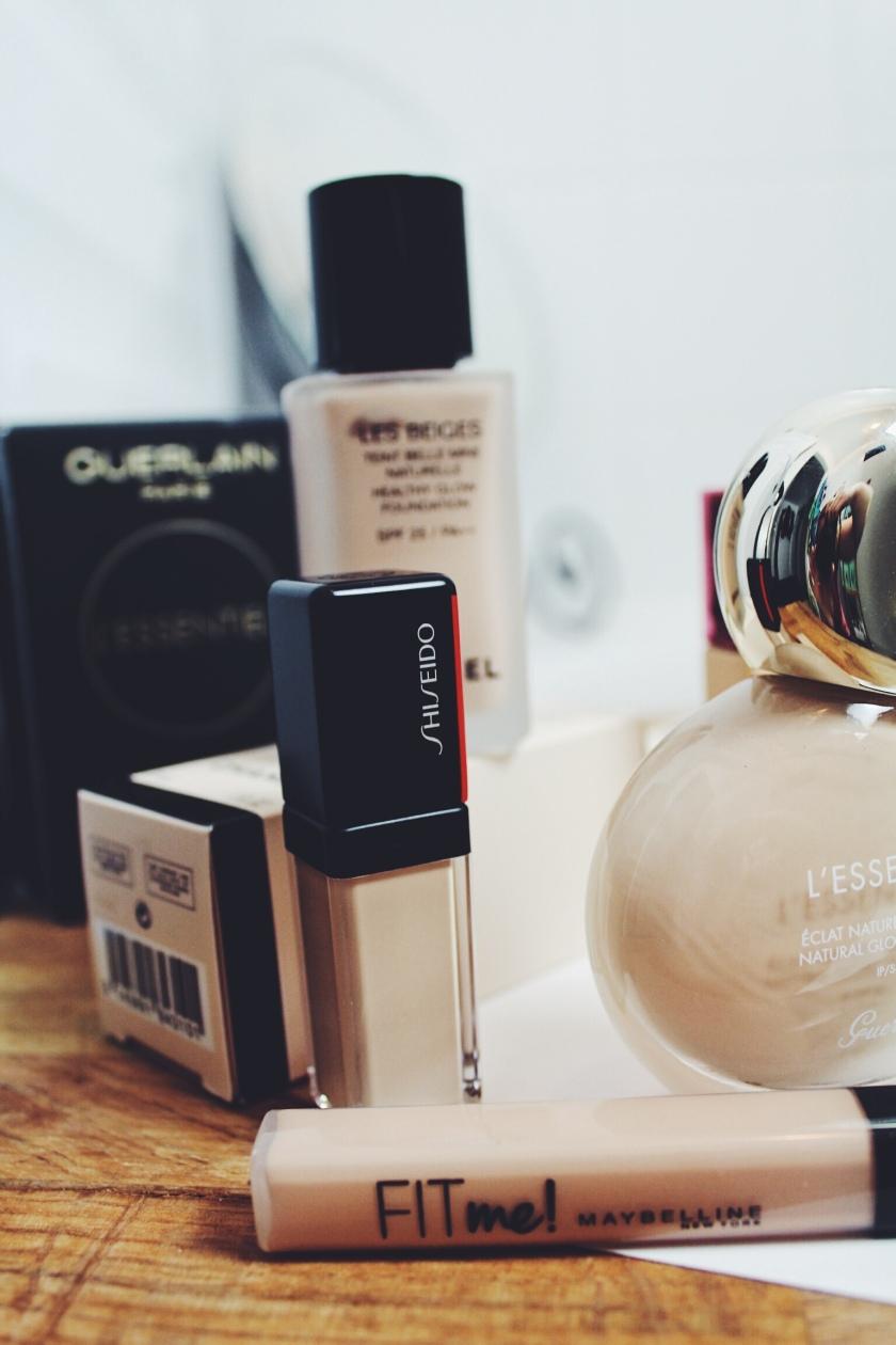 Shiseido Synchro Skin Self-Refreshing Concealer & Maybelline Fit Me Concealer