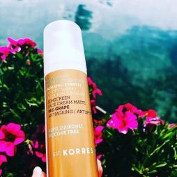 Korres Sunscreen Face Cream Matte
