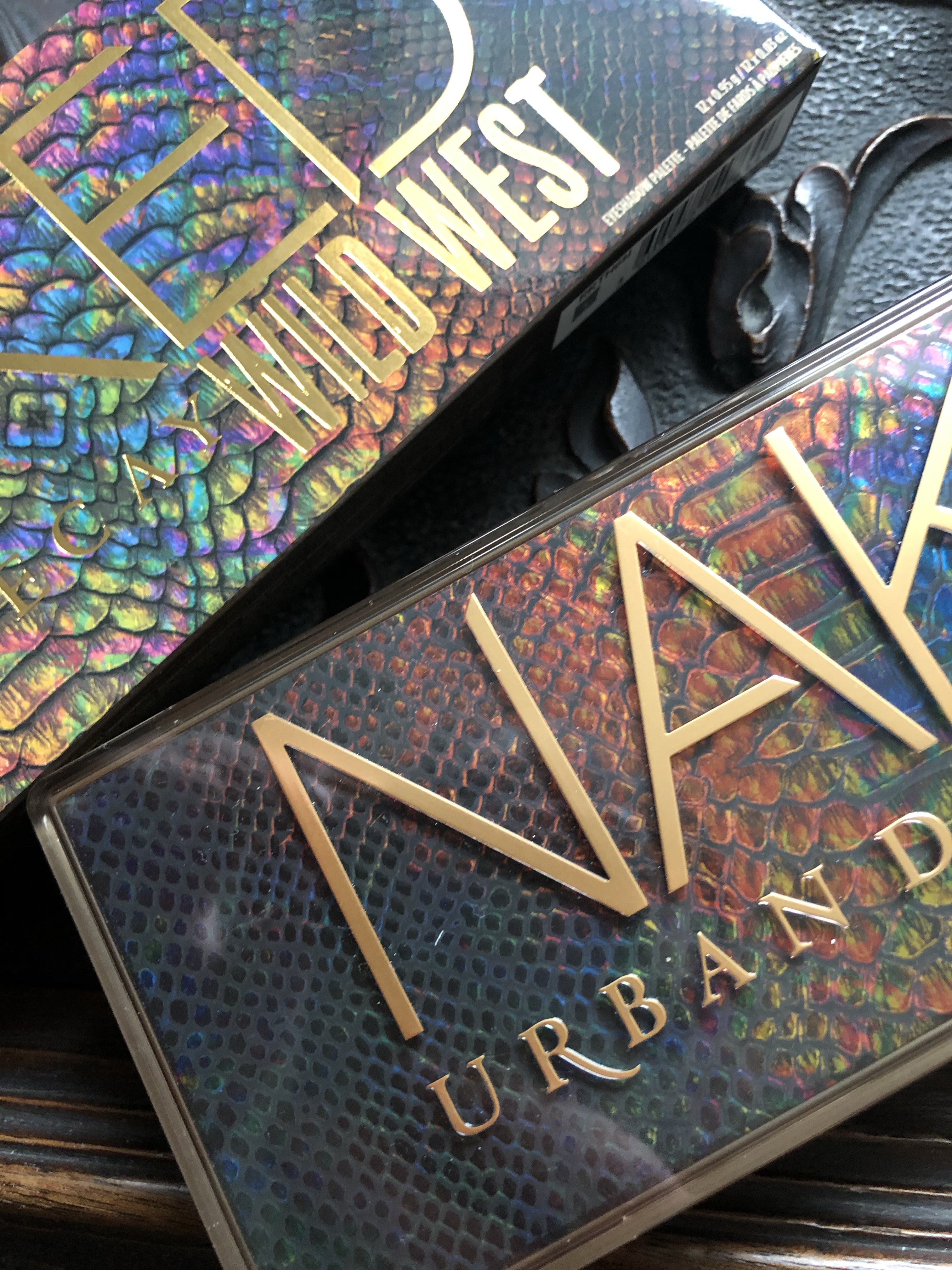 Urban Decay Naked Wild West Packaging