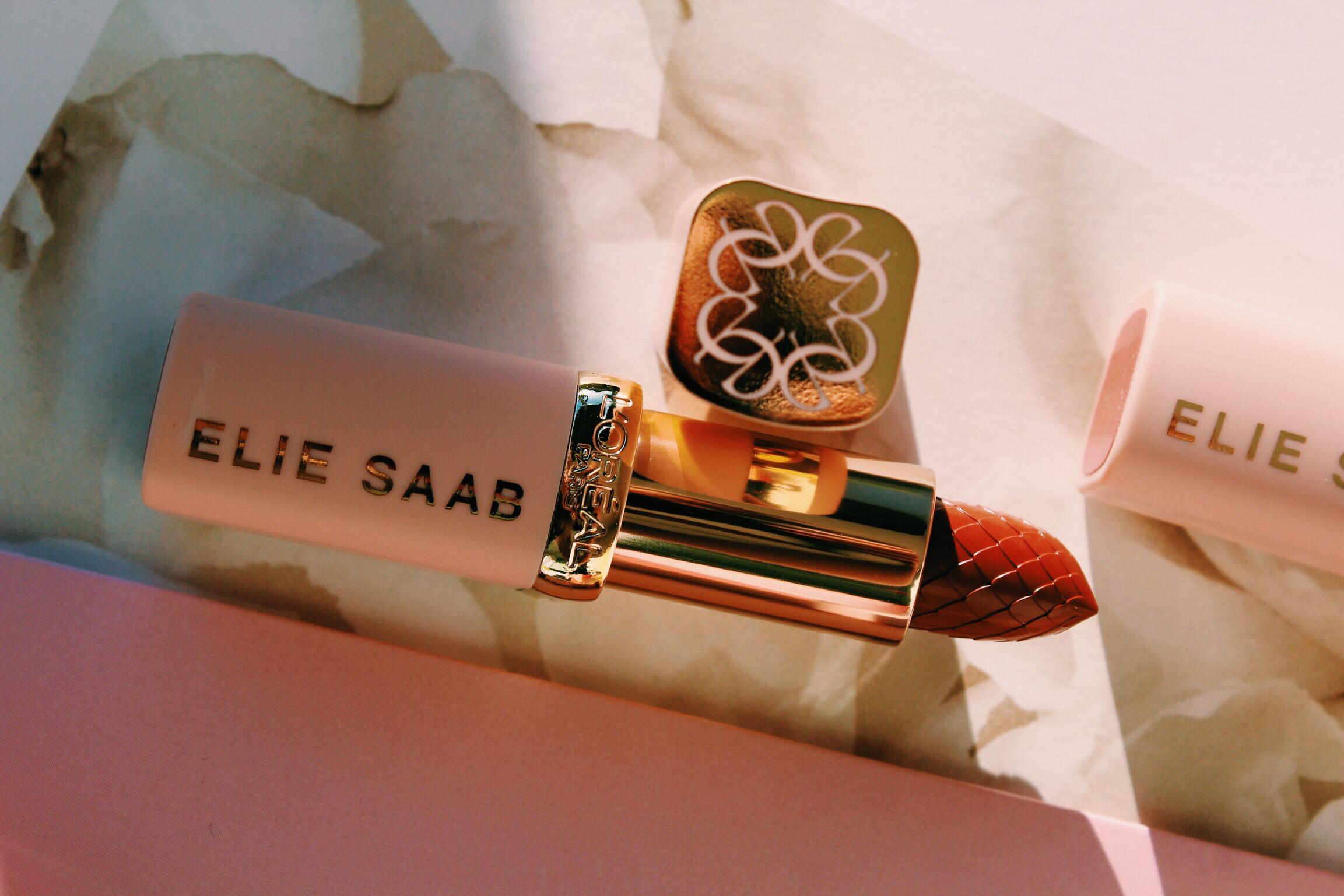 Elie Saab x L'Oréal Lipstick Details