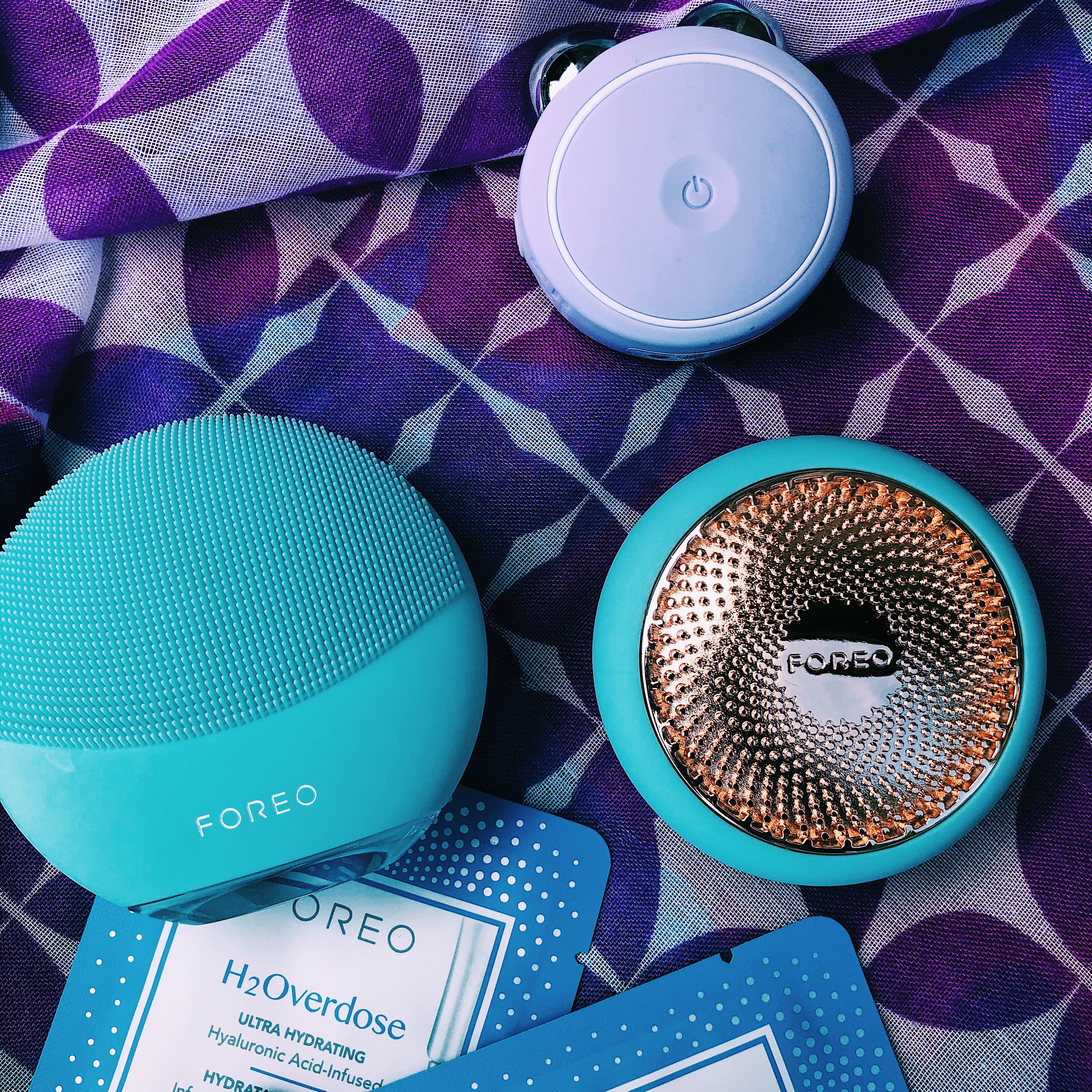 Skincare with Foreo